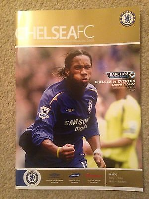 4 x ( One Signed) Chelsea soccer programme's