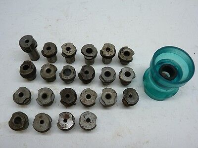 """22 Drill Bushings 1/2"""" ID Slip Fit with Drill Egg Cup"""