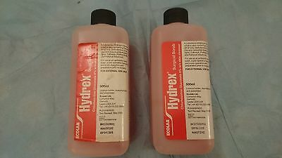 2 Hydrex Pink Surgical Scrub for Pre-Operative Hand & Skin Disinfection