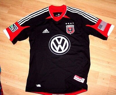 Adidas Formotion Player Issue Tech Dc United Washington Usa Mls Shirt M New