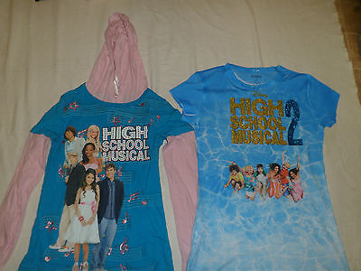 Bundle of two Girl's Disney tops, one is new, see details