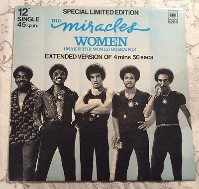 The Miracles - Women (Make The World Go Round) - Special Limited Edition. Ex Con