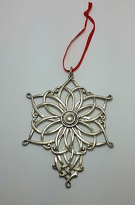 1998 LUNT Snowflake Christmas Ornament