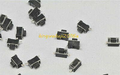 100pcs Momentary Tactile Tact Touch Push Button Switch DIP Mount 3x6x5mm