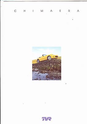 TVR CHIMEARA brochure (6 pages) - 1997 - mint condition