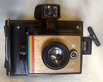 Kodak Land Camera Colour Swinger 2 Vintage Instant Photographs