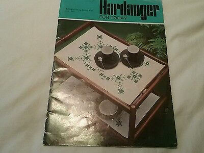 Vintage Brilliant  Hardanger Embroidery Pattern And Instruction Booklet