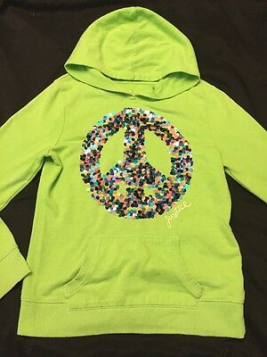 Justice Girls Hooded Sweatshirt Size 14