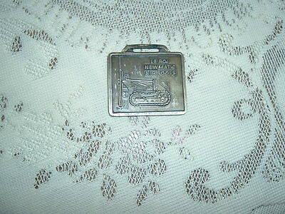 Vintage Le Roi Newmatic Air Tools 2 Sided Watch Fob