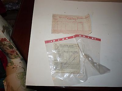 old tickets  Great Western  Railway & London & North Eastern  1910's