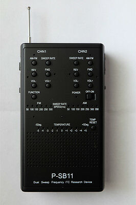 Spirit Box P-SB11 / Dual Frequency Sweep Radio with Hot/ Cold Spot Detection