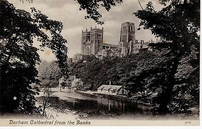 Durham - Durham Cathedral from the Banks (Valentines)