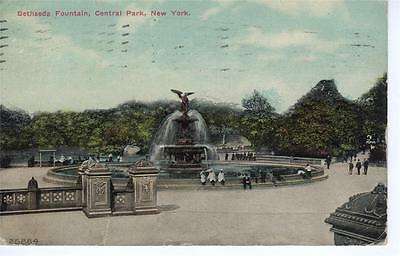 USA - Bethseda Fountain, Central Park, New York
