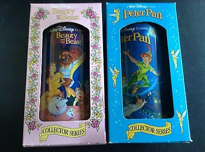 Beauty And The Beast & Peter Pan Collector Mug *new In Box* Disney & Burger King