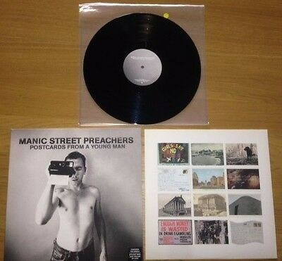The Manic Street Preachers – Postcards from a young man – RARE Vinyl LP 2010