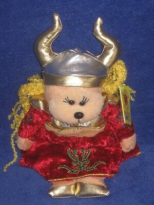 """BEANIE KIDS """"Helga the Viking Queen"""" Retired Tag in Tact As New Condition"""