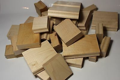 Stampin' Up Wood Mounting Blocks for Rubber Stamps Card Making and Scrapbooking