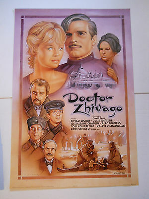 """Doctor Zhivago (1965) 1995 re-release movie poster (27""""x39.75"""") rolled S/S"""