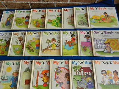 MY FIRST STEPS TO READING Jane Belk Moncure 21 Books 1984