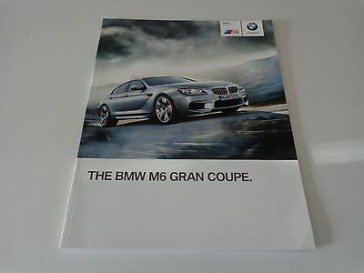 2013 BMW M6 Gran Coupe Brochure