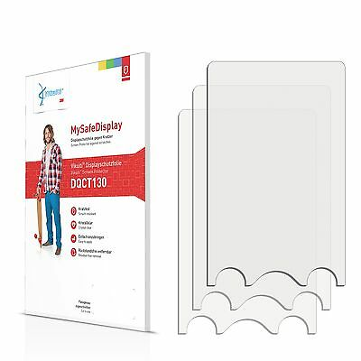 3x Vikuiti Screen Protector DQCT130 from 3M for TrekStor i.Beat move S 2.0