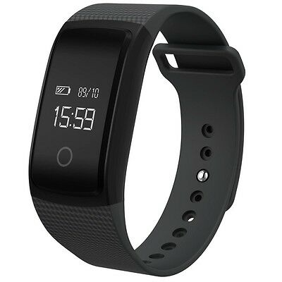 Bluetooth NFC Wireless Heart Rate Monitor Smart Watch For iPhone Android IOS