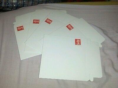 5 CD / DVD Cardboard Mailers Envelopes Easy Seal 1ST CLASS STAMPED READY 350gsm