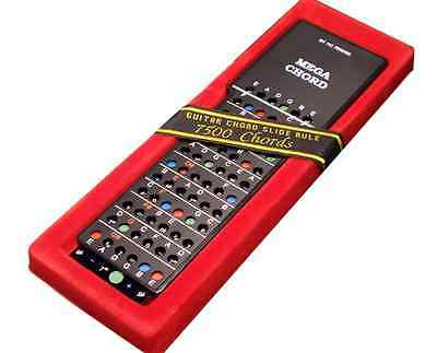 MEGA CHORD Guitar Slide Rule Brand New! VERY Useful! Great Gift Idea!
