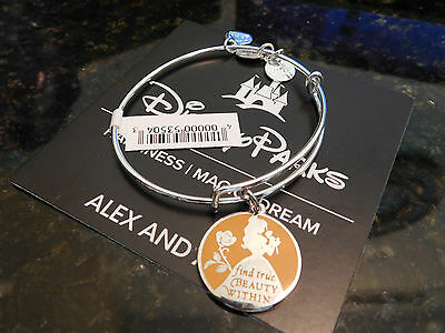 Silver Belle Find True Beauty Within Alex and Ani Bracelet Brand New