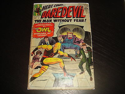 DAREDEVIL #3 Stan Lee  Silver Age Marvel Comcs 1964 Low Grade GD Cheap!