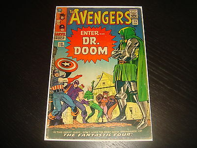 THE AVENGERS #25  Silver Age Dr. Doom Marvel Comics 1966  VG