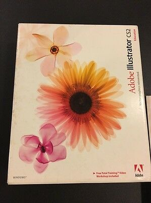 Adobe Illustrator CS2 : Full Color Edition / CD SEALED / Priced To Sell