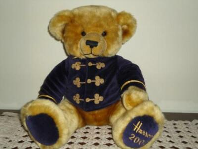 Harrods Knightsbridge LARGE Christmas Bear 2000