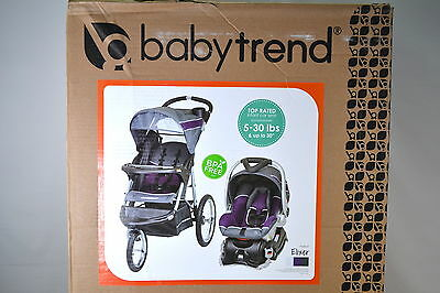 Baby Trend Expedition Jogger Travel System - Elixer Fashion