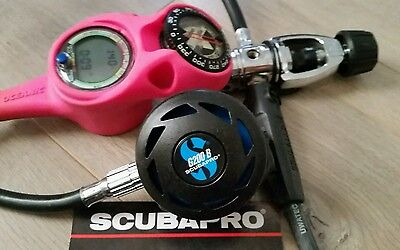 Scubapro G200B/MK200  Regulator with Oceanic Computer Console Nice!