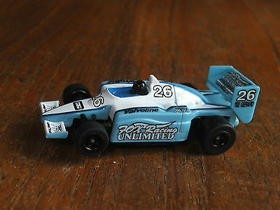 AFX- RARE FOX RACING UNLIMITED 26, NEW chassis, HO Tomy micro Tyco AURORA car