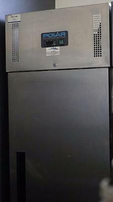 Polar Single Upright Stainess Steel Commercial Fridge DL893-A