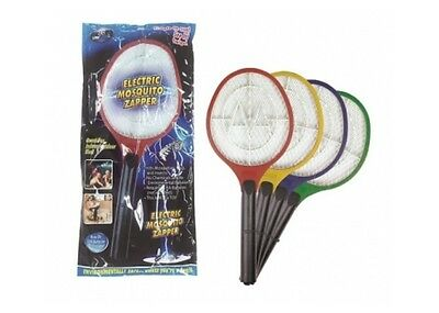 Electric  Mosquito Zapper -  Tennis Racquet Shape Zaps Insects Bugs Mozzies