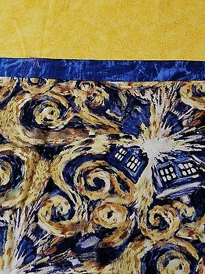 Embroidered Personalized STANDARD Pillowcase  Dr. Who