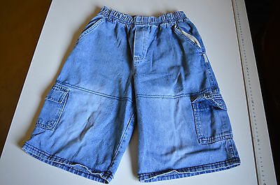 denim shorts.pre-owned. size 7 by kids inc. colour blue