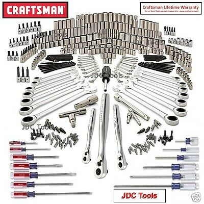Craftsman 365 pc Mechanics Tool Set with 75 T Ratchet Wrenches *NEW^ 311 348