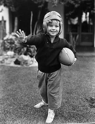 Shirley Temple Cute Little Footbal Star 8X10 Photo 01