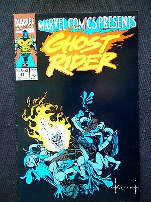 Marvel Comics Presents # 98 Vol 1 1992 Ghost Rider Wolverine Comic Book