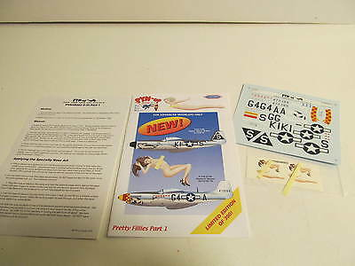 Pyn up Decals Pretty Fillies Part 1 Limited Edition 2004
