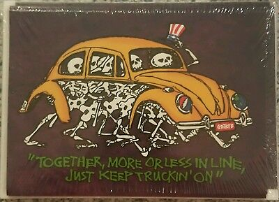 Grateful Dead Jerry Garcia Greeting Cards Pack of 10 NEW Bug Truckin