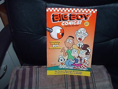 Big Boy Restaurants Kids Comic Book #534 New