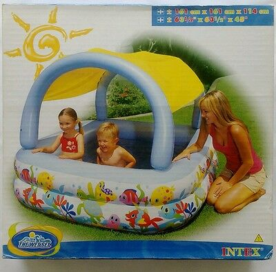 Childrens Kids Inflatable Outdoor Swimming Splash Wading Play Pool