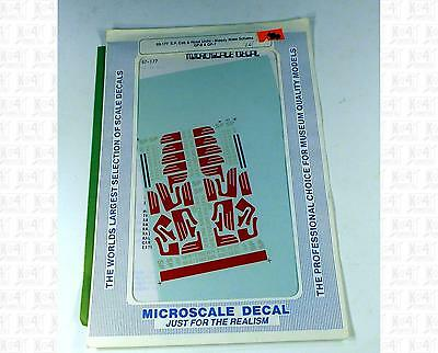 Microscale N Decals Southern Pacific Diesels With Wings (1958-1984) 60-177
