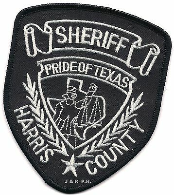 """*NEW*   Harris County, Texas  (3.5"""" x 4.5"""") shoulder police patch (fire)"""