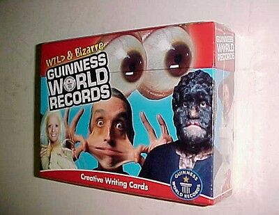 Carson-Dellosa Wild & Bizarre Guinness World Records Creative Writing Cards New